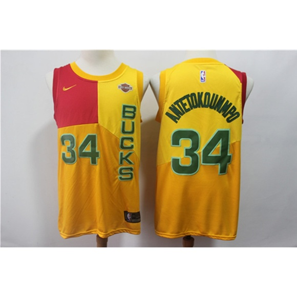 cheap for discount 99c06 f80f2 Milwaukee Bucks Giannis Antetokounmpo Jersey (7) NWT